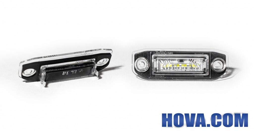 Inkapslad Skyltbelysning till Volvo